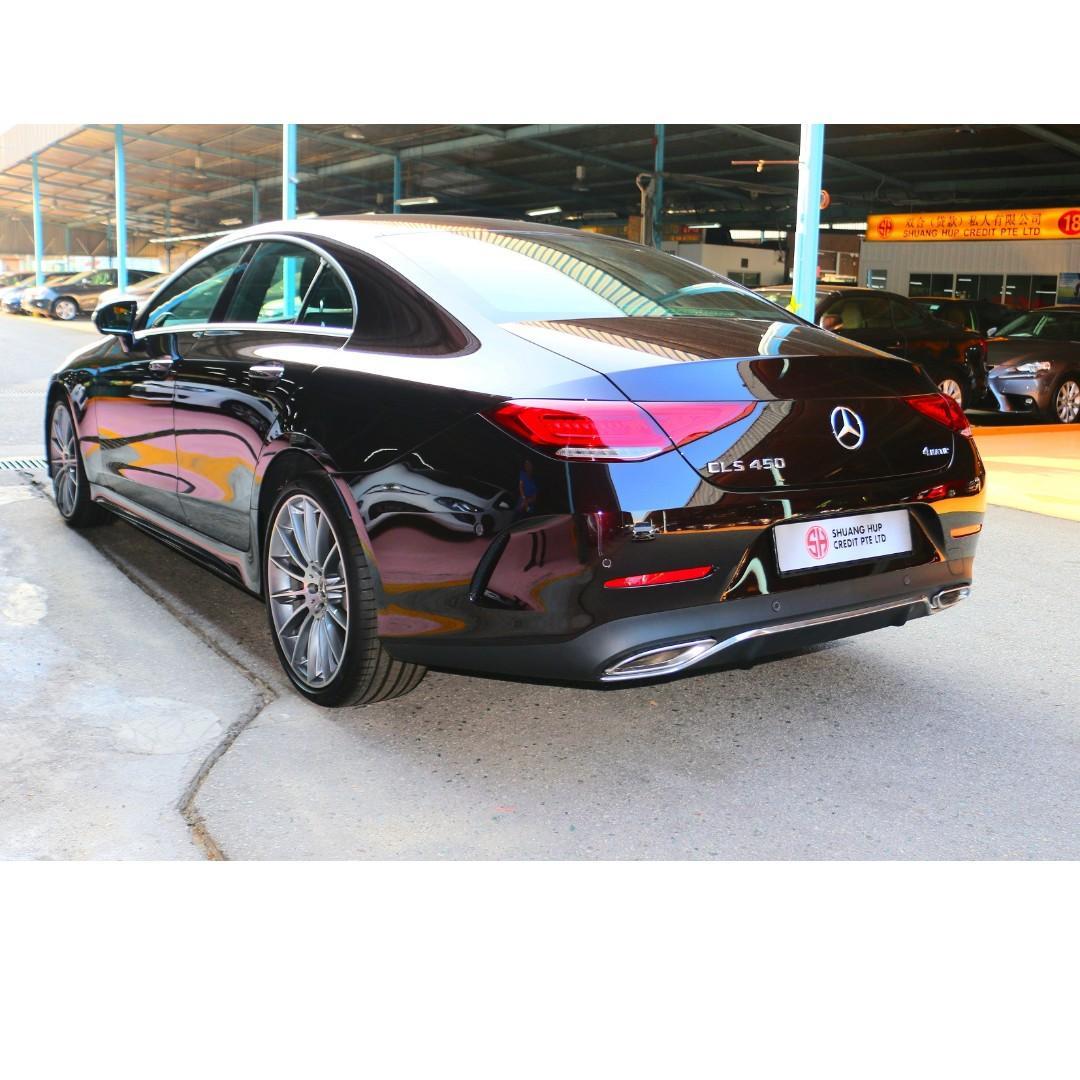 Mercedes-Benz CLS450 AMG Line Mild Hybrid