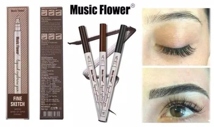 Music Flower Microblading Eyebrow Pen Liquid Waterproof Original