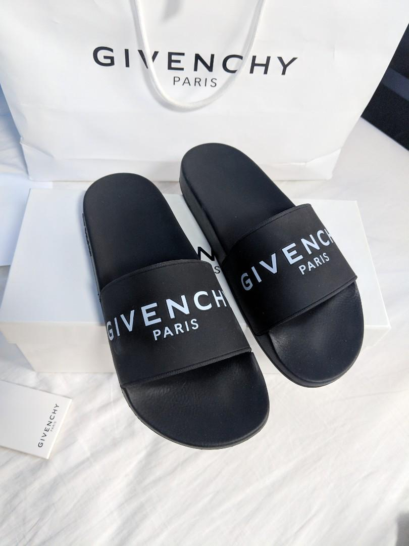 b8a5e1712 New Givenchy slides - Mens size 42, Luxury, Apparel on Carousell