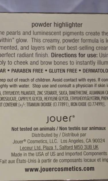 NEW UNUSED AND AUTHENTIC JOUER ROSE QUARTZ HIGHLIGHTER
