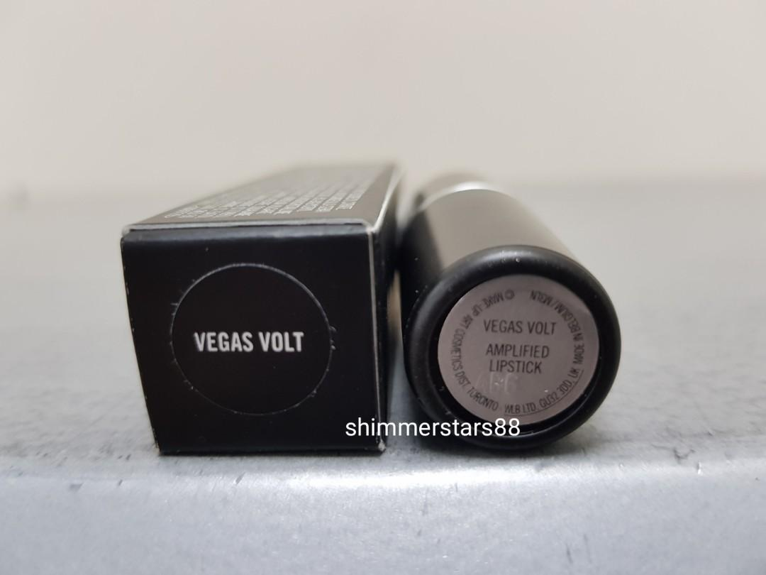 New!MAC Vegas Volt Amplified lipstick, RRP$36, FREE TRACKED POSTAGE