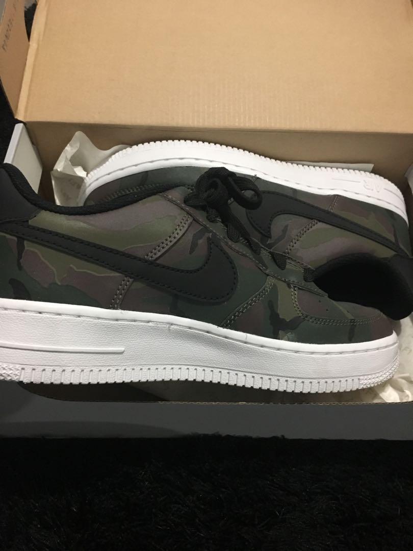 Nike Airforce 1 reflective camo