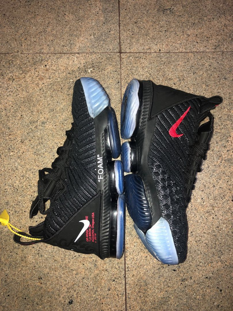 a15bf9dfd42 Nike LeBron 16, Basketball shoes, icy soles, Men's Fashion, Footwear ...