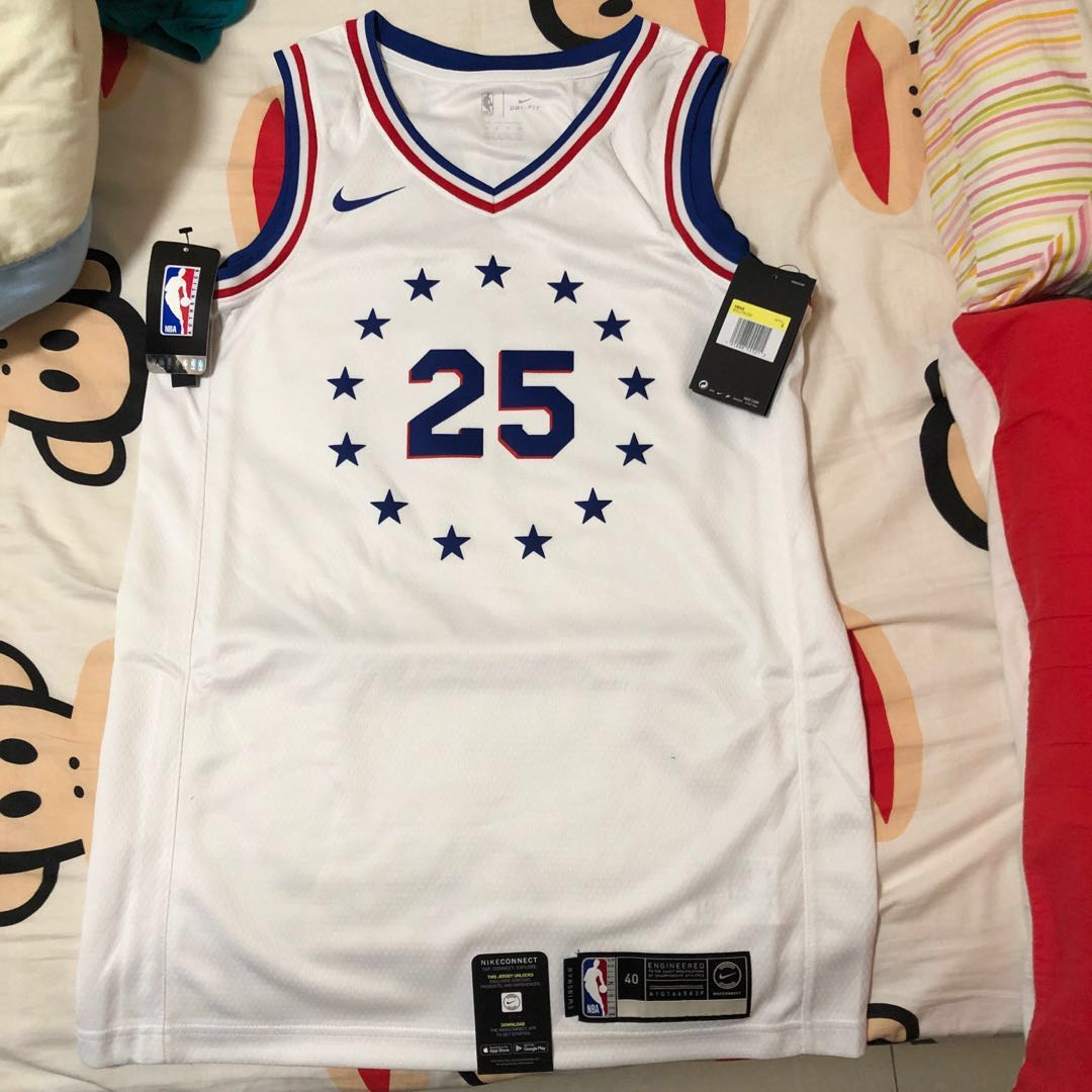 424a91f8de9 Nike NBA 波衫/ 球衣Swingman 76人Ben Simmons (size S), Sports, Athletic & Sports  Clothing on Carousell