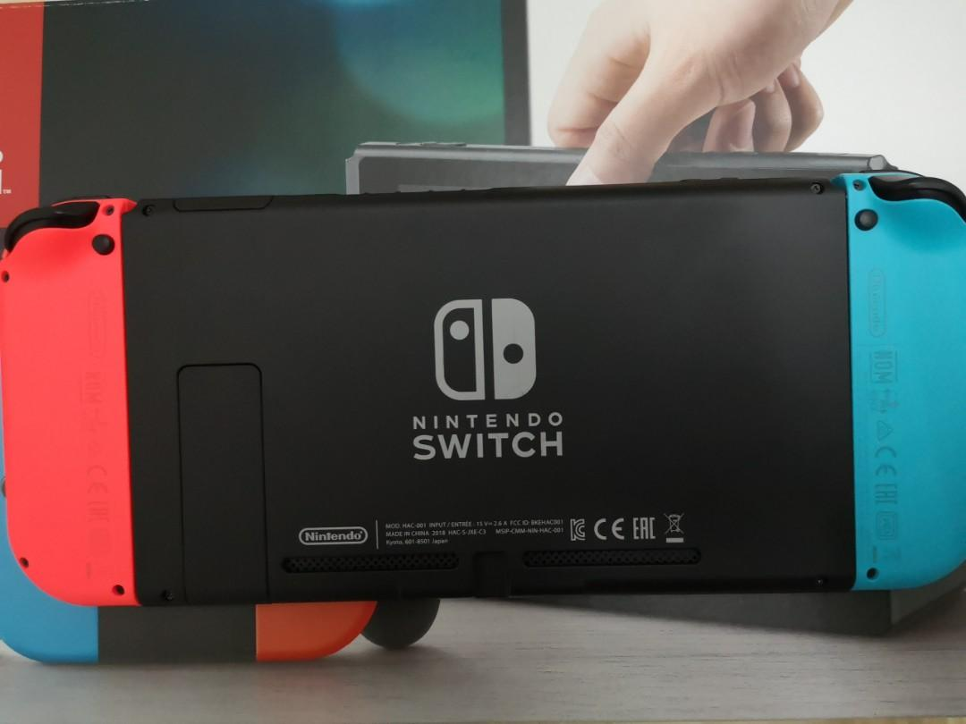 Nintendo Switch (Not Selling Seperately!!! )