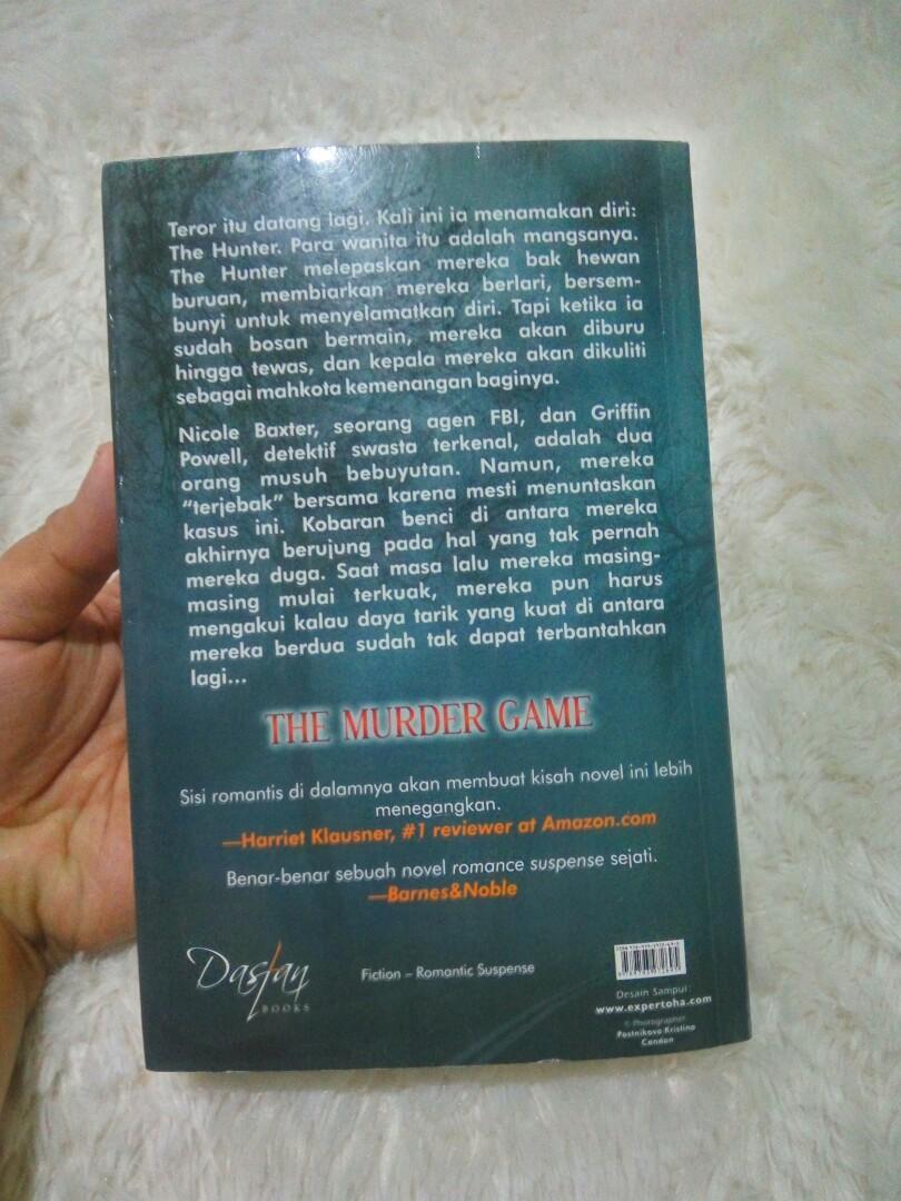 Novel beverly barton murder game