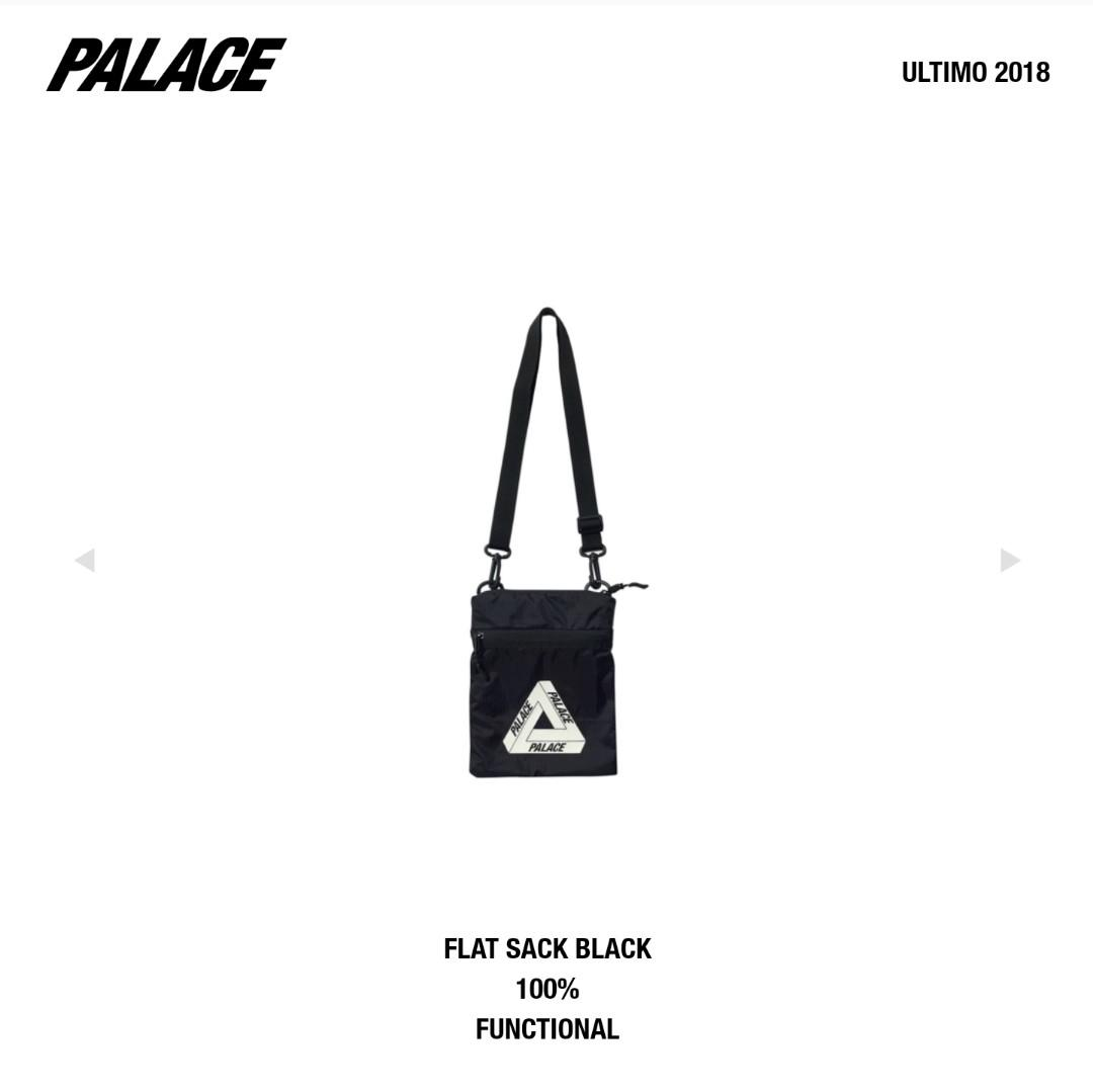 Palace Black Flat Sack (Glow in the Dark)