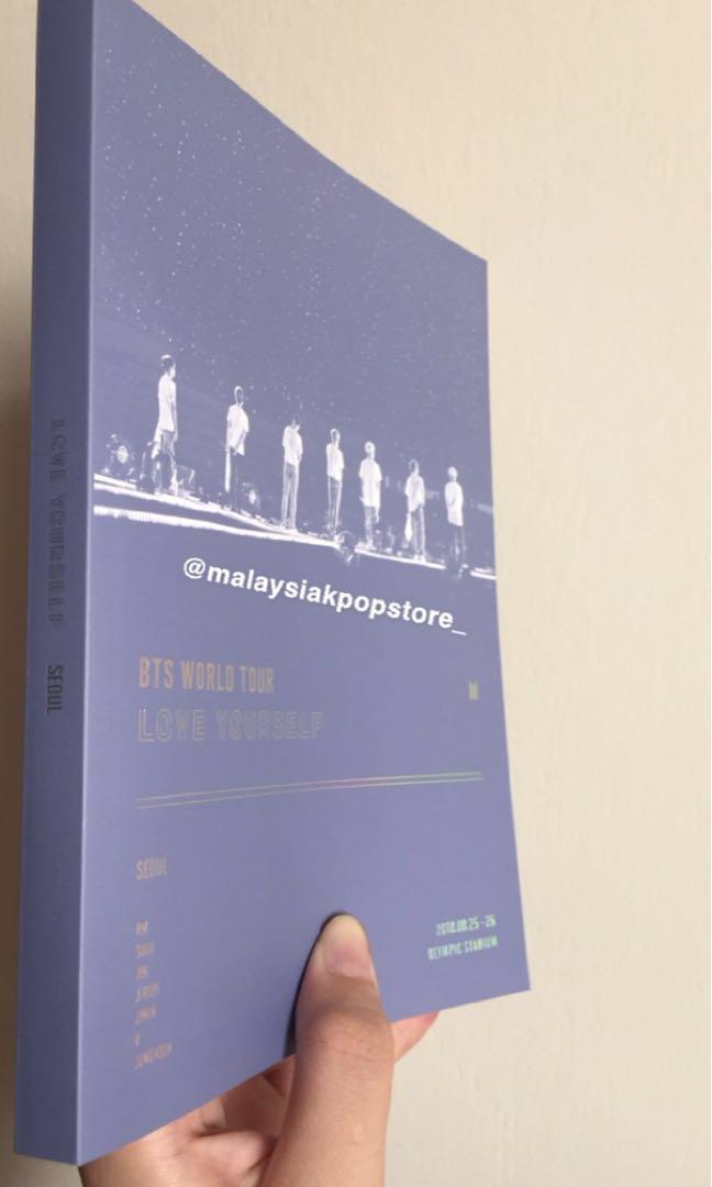 Photobook Love Yourself Tour in Seoul DVD Loose Seoul