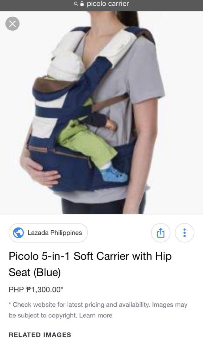 PICOLO hip seat baby carrier - FREE SHIPPING on Carousell