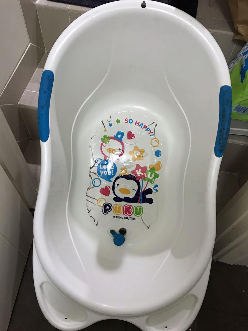 PRELOVED bak mandi bayi Puku bath tub