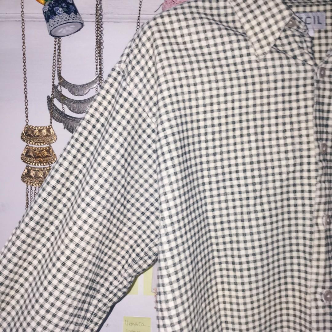 preloved kemeja flannel