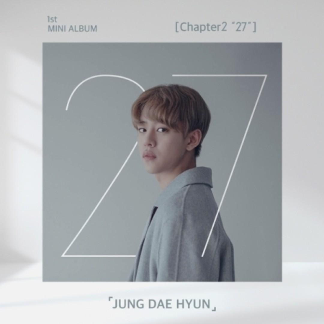 "[PREORDER] JUNG DAE HYUN 정대현 - CHAPTER2 ""27"" (1ST 미니앨범)"