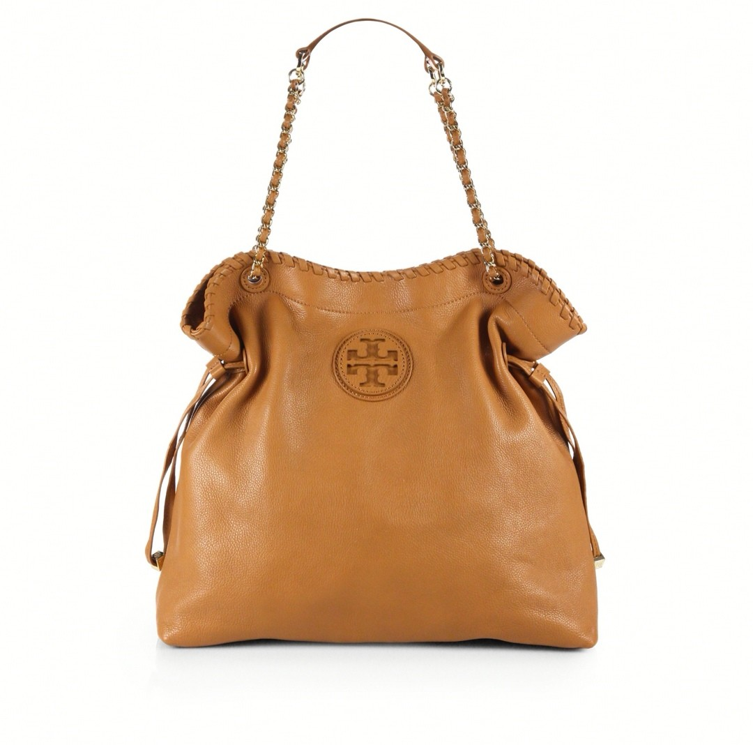 Tory Burch Marion Tote Camel
