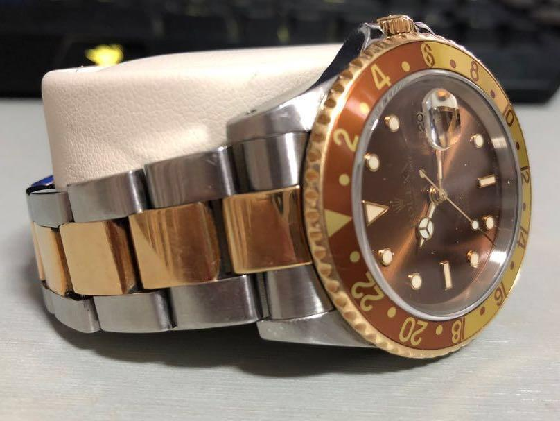 Rolex GMT Master II 16713 Rootbeer (Rare Brown Face)