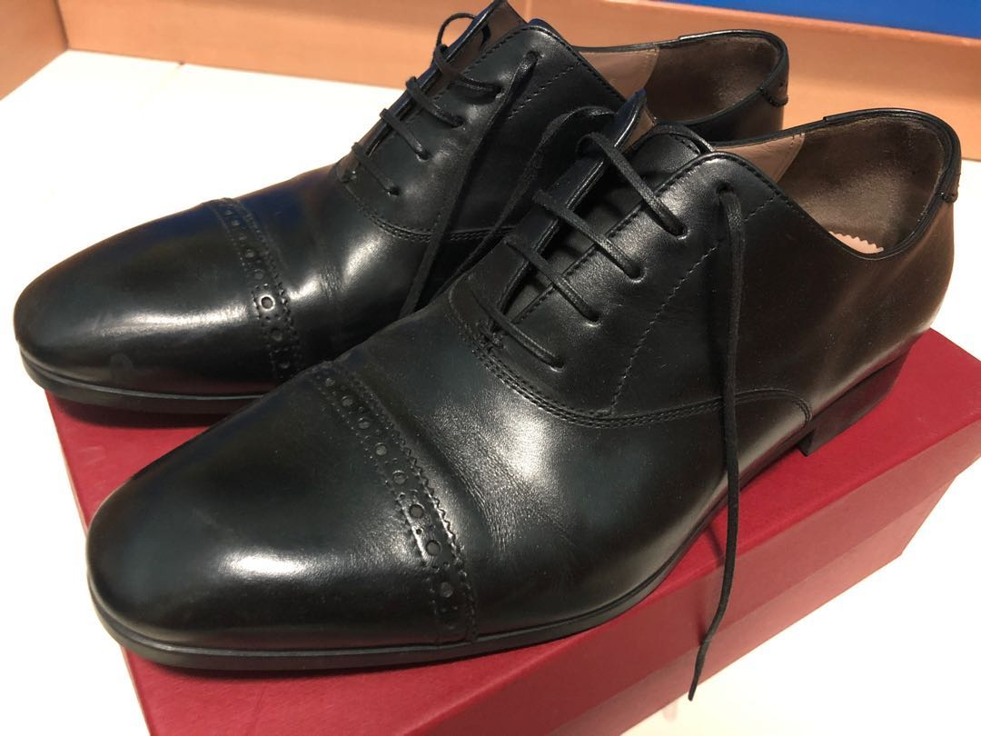 Salvatore Ferragamo Cap Toe Oxford Shoe