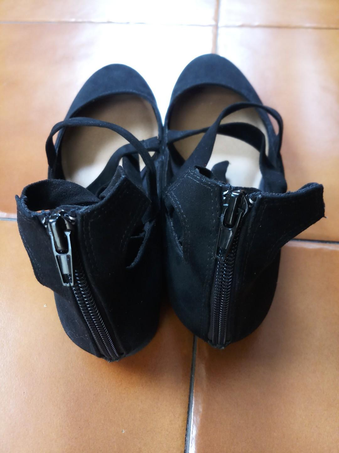 Sepatu lace up brash for payless