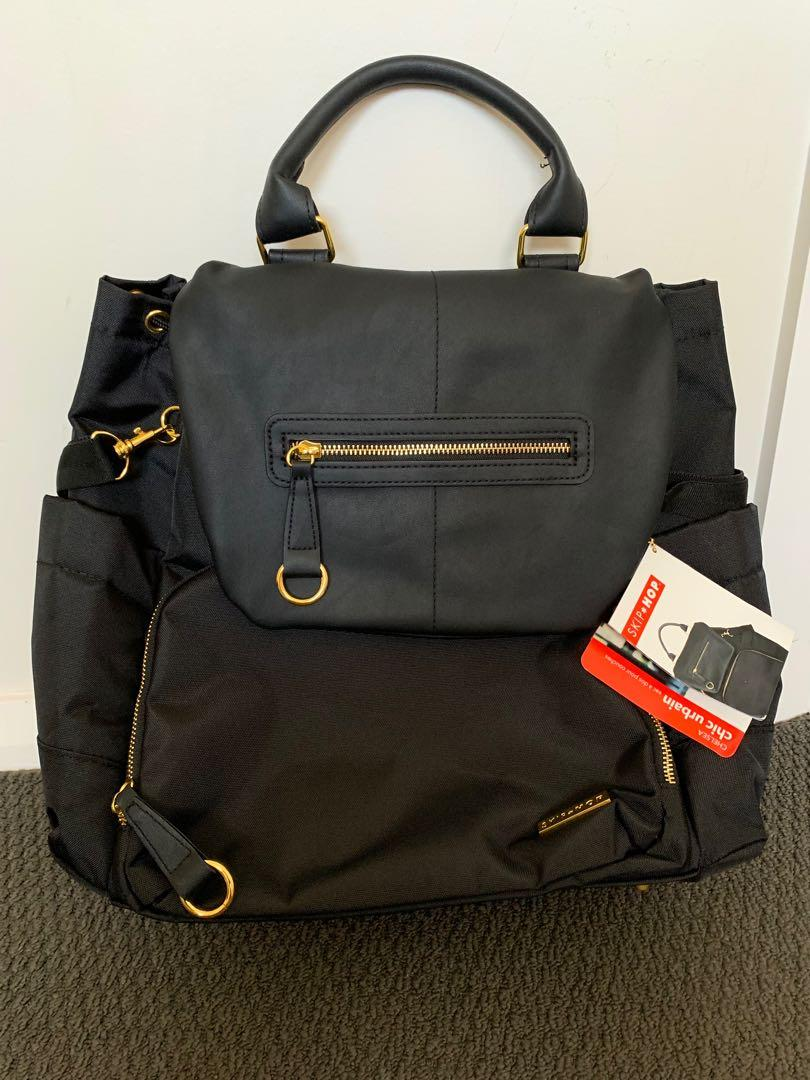 Skip Hop Chelsea Downtown Chic Diaper Backpack (Nappy Bag)