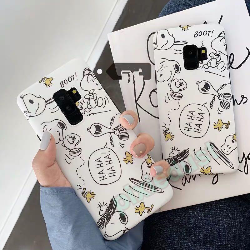 snoopy and friends phone casing [ SAMSUNG ]
