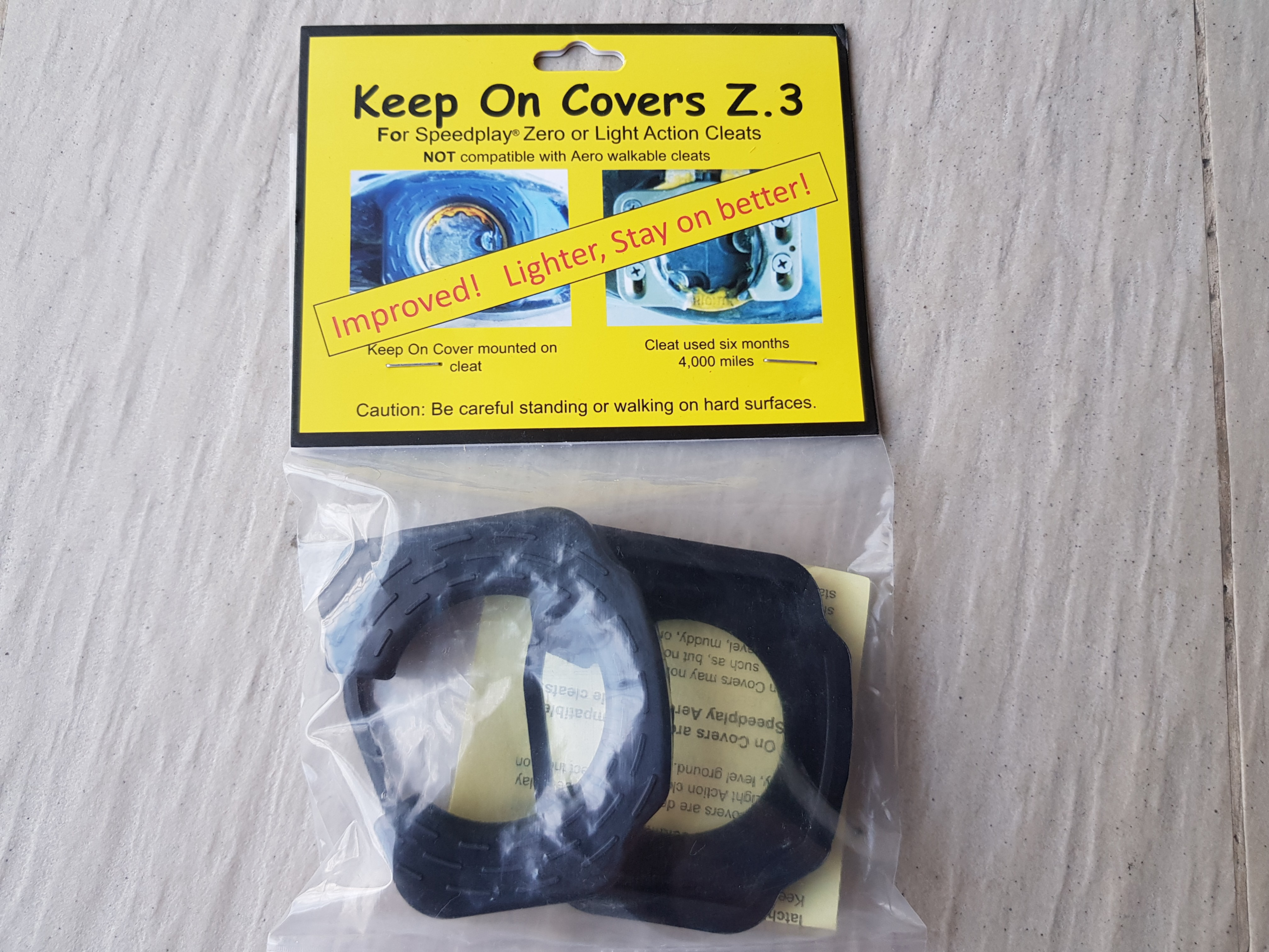 Stay On Cleats Z.2 for Speedplay Zero or Light Action Cleats Protection Cover