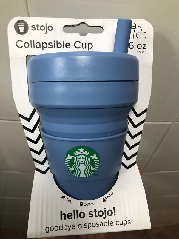 cfbb86ec22d Starbucks x Stojo Collapsible Cup