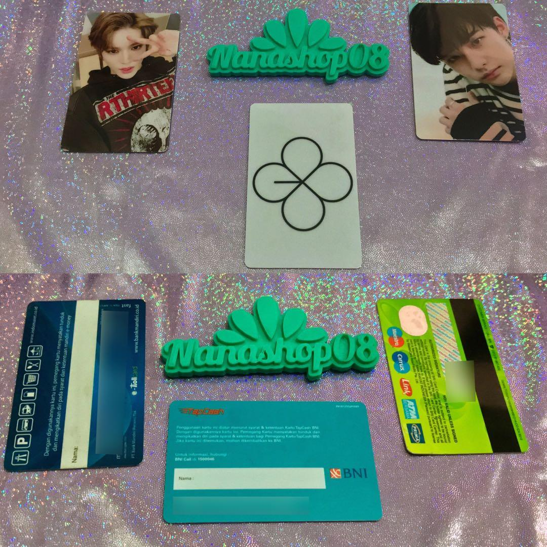 Sticker Card Kpop EXO untuk Kartu ATM E-money TapCash Brizzi Transjakarta etc