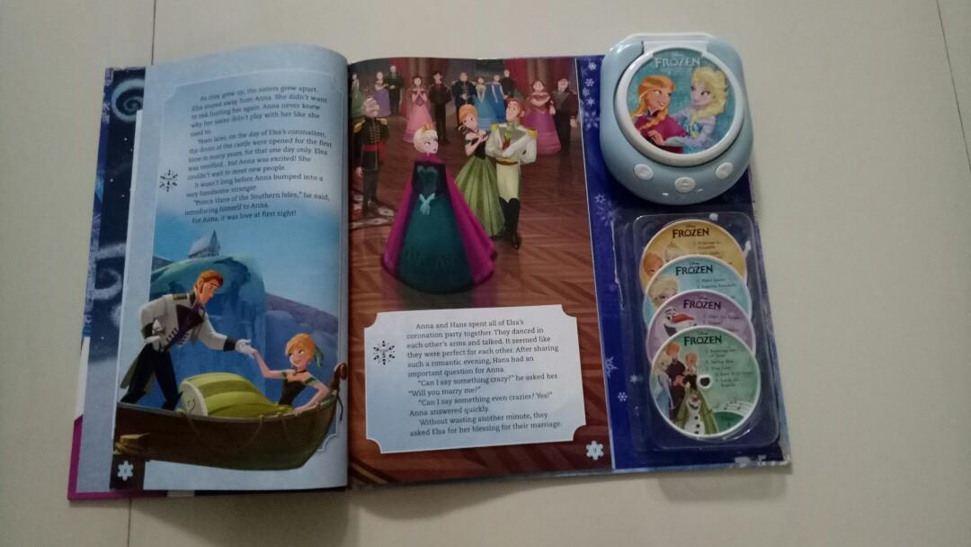 Storybook Frozen