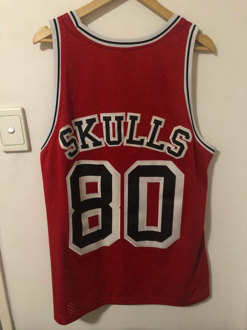 Stussy Skulls Basketball Jersey