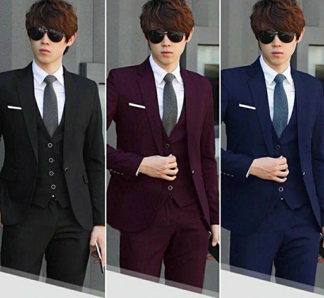 Men Suit 7pc Full Value Set Suits Sale Men S Fashion Clothes Outerwear On Carousell