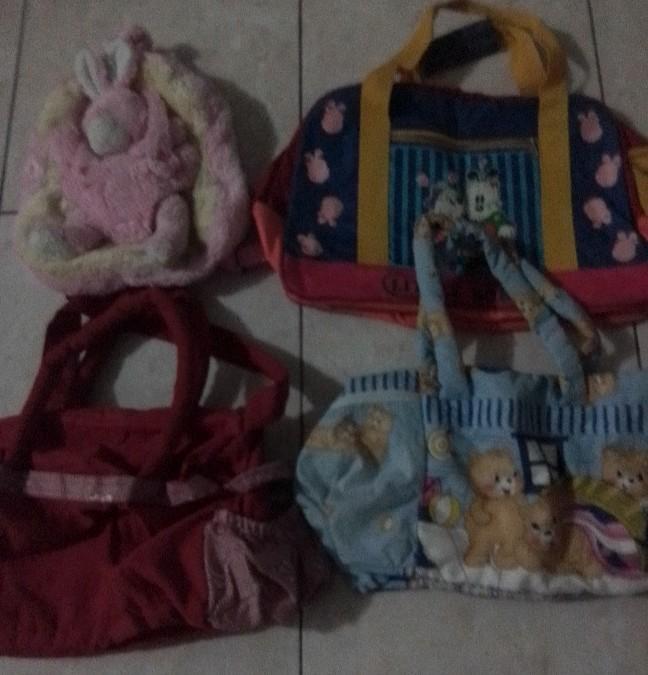 Tas bayi dan tas gemblok anak tk