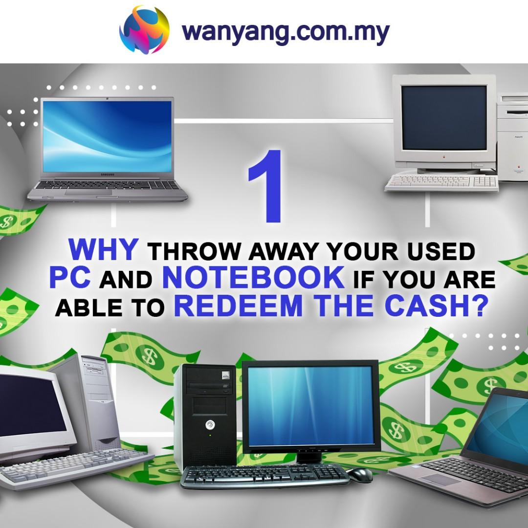 TRADE IN YOUR OLD DEVICE & REDEEM CASH ] TILL 30 APRIL 2019