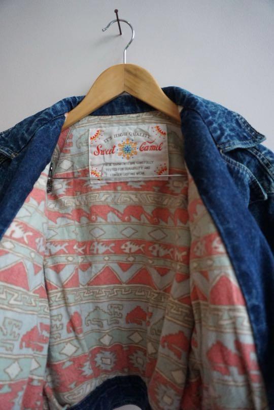 two-sided Vintage Denim Jacket