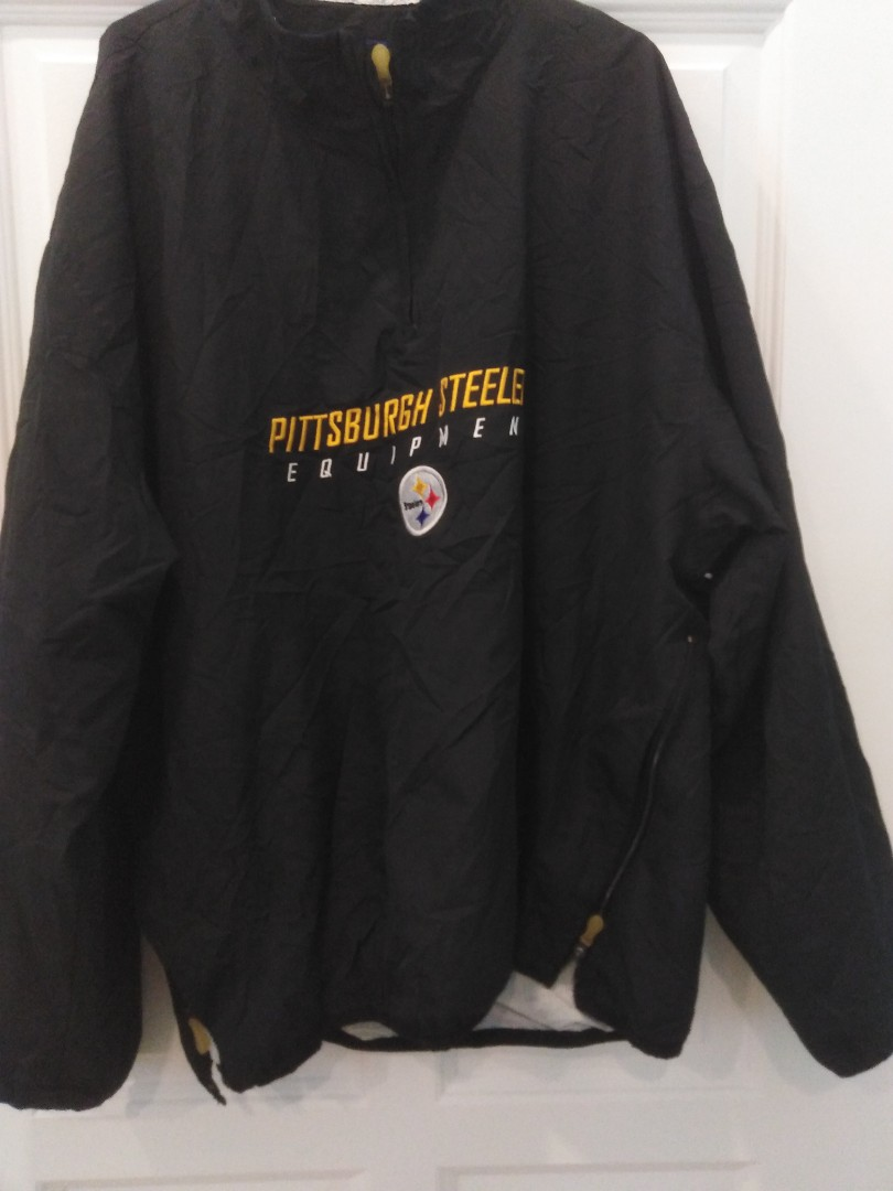 cheap for discount 2348b ce5fe Vintage Reebok Pittsburgh Steelers Jacket 🔴