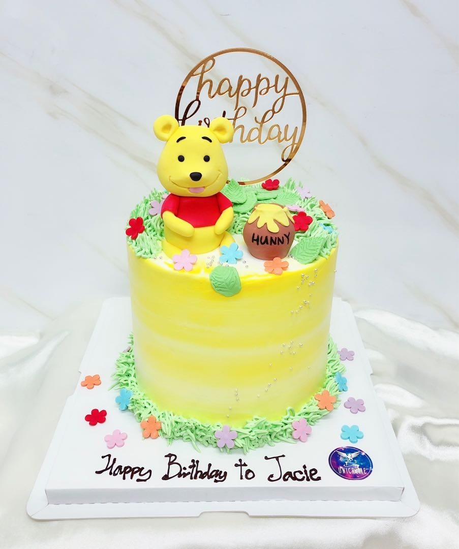 Winnie The Pooh Cake Food Drinks Baked Goods On Carousell