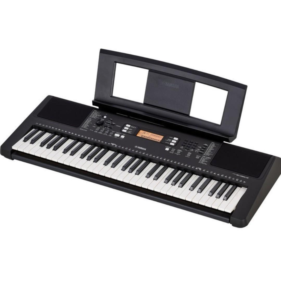 Yamaha -  61 keys keyboard  w/Adaptor    ( PSR -E363 )