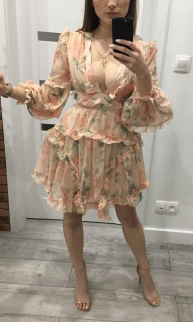 Zimmermann Inspired Prima Floating Cut Out Dress (RRP $995)