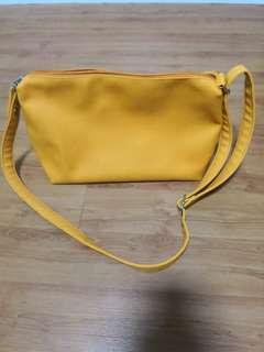 [Preloved] Yellow Sling Bag