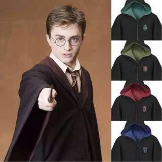 Harry Potter Costume Dress Gryffindor Slytherin Cosplay