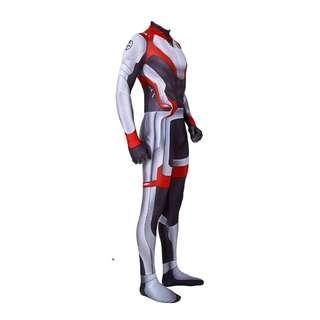 Vengers Endgame Quantum Realm Lycra Spandex Suits Costume