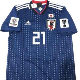 日本隊🇯🇵主場#21 Doan 堂安律 連亞洲章 S/M 全新連牌