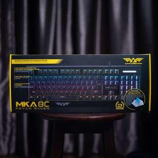 Armaggeddon MKA-8C Psych Raven | Budget Mechanical Keyboard