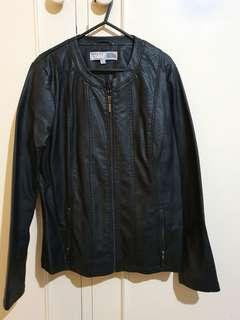 Rivers faux leather jacket