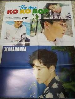 EXO Xiumin Kokobop poster