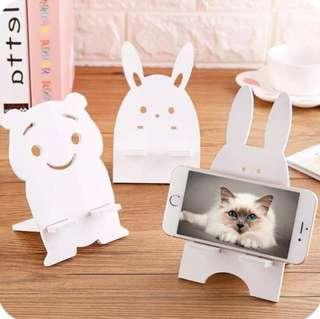 🚚 [NOW SALE] Cute Wooden Mobile Phone Stand Holder Support