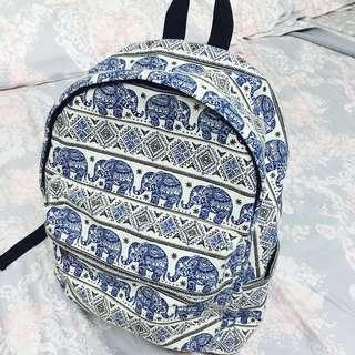 🚚 泰國 大象後背包 媽媽包 學生包 兒童包 書包