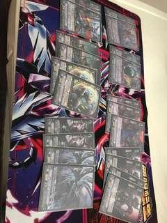 Cardfight Vanguard Dark Irregular Cards