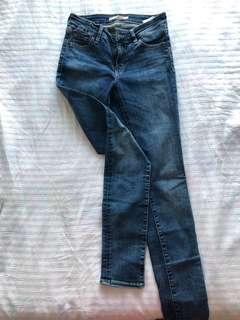 Original Levi's 711 Skinny