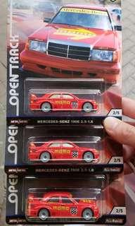 Hot Wheels Mercedes-benz 190E 2.5-16