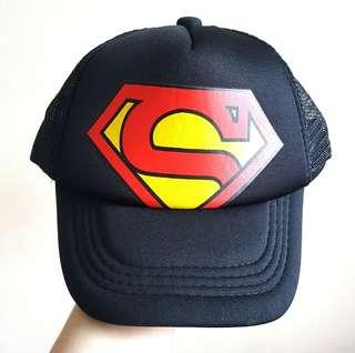 Kids Superman Logo Baseball Fashion Cap