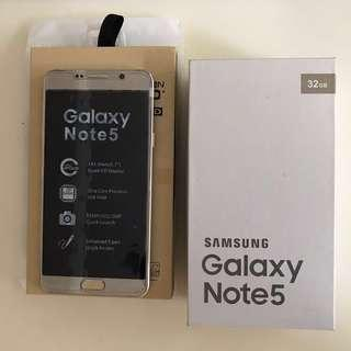 🚚 SAMSUNG Note 5 64GB(金)SM-N920T