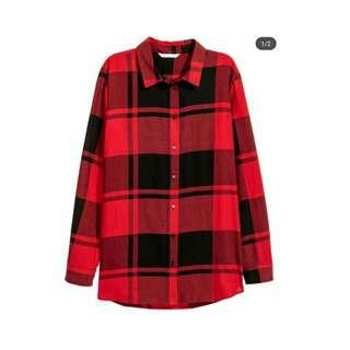 PLAID SHIRT - TARTAN BY H&M ORIGINAL